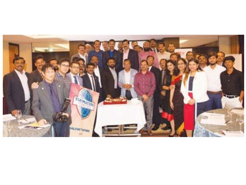 Galfar Toastmasters Club celebrates 10th anniversary at 201st meeting